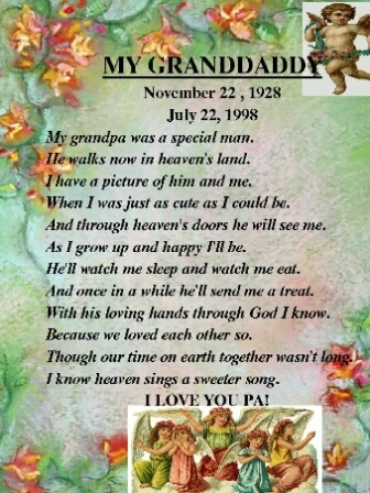 Poem for Grandaddy